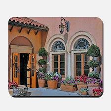 Flower Courtyard Mousepad