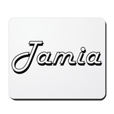 Tamia Classic Retro Name Design Mousepad
