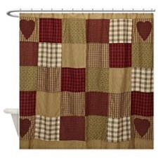 Quilt Design Shower Curtain