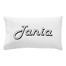 Tania Classic Retro Name Design Pillow Case