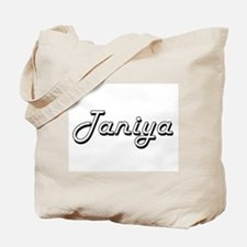 Taniya Classic Retro Name Design Tote Bag