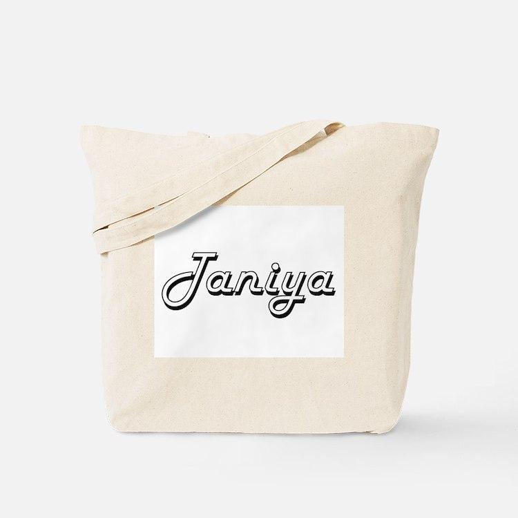 Taniya Classic Retro Name Design Tote Bag