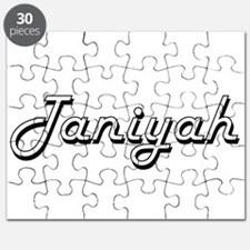 Taniyah Classic Retro Name Design Puzzle