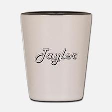 Tayler Classic Retro Name Design Shot Glass