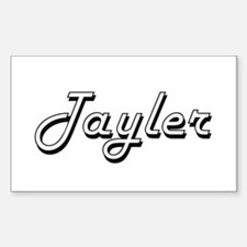 Tayler Classic Retro Name Design Decal