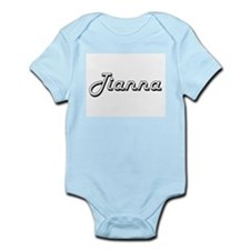 Tianna Classic Retro Name Design Body Suit