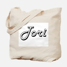Tori Classic Retro Name Design Tote Bag