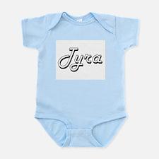 Tyra Classic Retro Name Design Body Suit