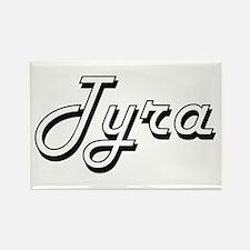 Tyra Classic Retro Name Design Magnets