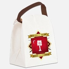 SC Big Red Canvas Lunch Bag