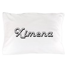 Ximena Classic Retro Name Design Pillow Case