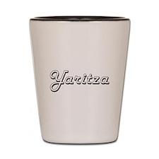 Yaritza Classic Retro Name Design Shot Glass