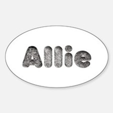 Allie Wolf Oval Decal