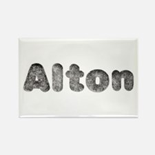 Alton Wolf Rectangle Magnet