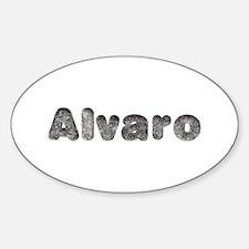 Alvaro Wolf Oval Decal