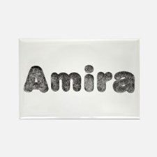Amira Wolf Rectangle Magnet