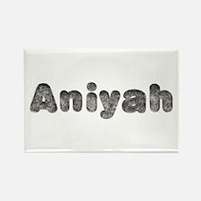 Aniyah Wolf Rectangle Magnet