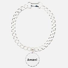 Amani Wolf Bracelet