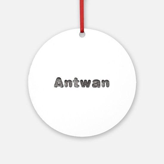 Antwan Wolf Round Ornament