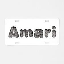 Amari Wolf Aluminum License Plate