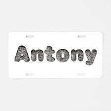 Antony Wolf Aluminum License Plate