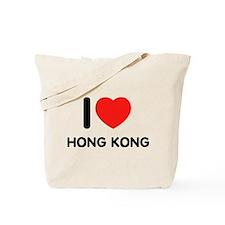 I love Hong Kong Tote Bag
