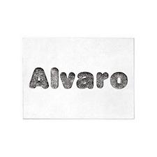 Alvaro Wolf 5'x7' Area Rug