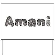 Amani Wolf Yard Sign