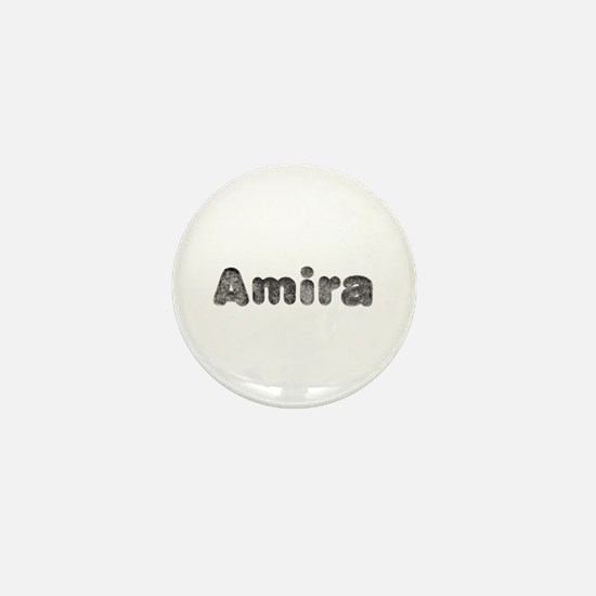 Amira Wolf Mini Button