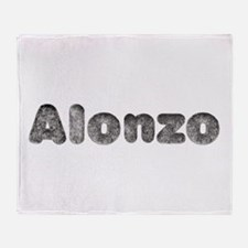 Alonzo Wolf Throw Blanket