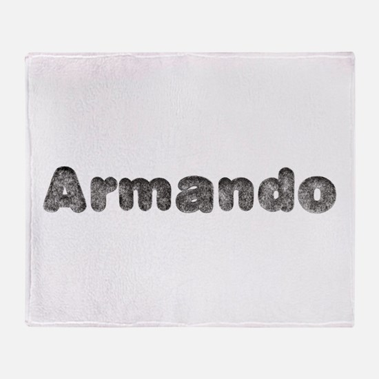 Armando Wolf Throw Blanket