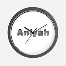 Aniyah Wolf Wall Clock