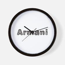 Armani Wolf Wall Clock