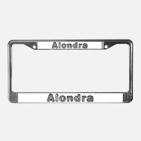Alondra Wolf License Plate Frame