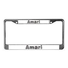 Amari Wolf License Plate Frame