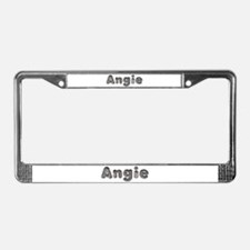 Angie Wolf License Plate Frame