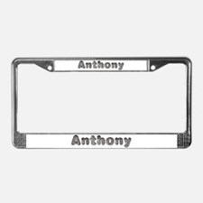 Anthony Wolf License Plate Frame