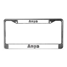 Anya Wolf License Plate Frame