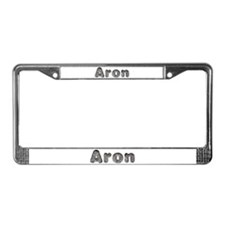 Aron Wolf License Plate Frame