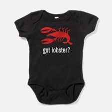Unique Funny lobster Baby Bodysuit