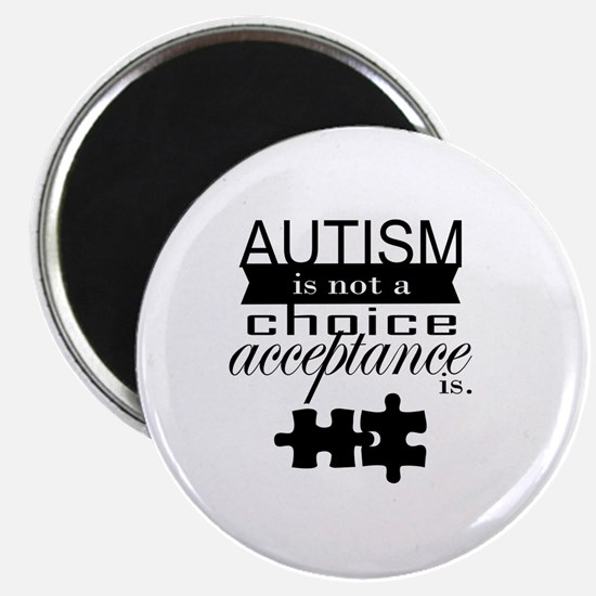 Autism is not a Choice, Acceptance is. Magnet