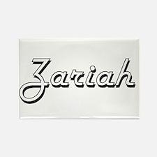 Zariah Classic Retro Name Design Magnets