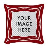 Photo customized Woven Pillows