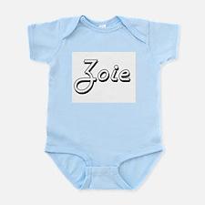 Zoie Classic Retro Name Design Body Suit