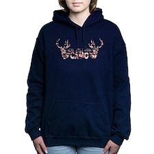 REAL GIRLS WEAR CAMO Women's Hooded Sweatshirt