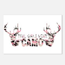 REAL GIRLS WEAR CAMO Postcards (Package of 8)
