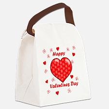 Unique Valentines day Canvas Lunch Bag