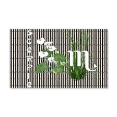 Bamboo and Lily Scorpio Wall Decal