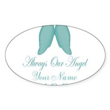 Always Our Angel Blue Decal