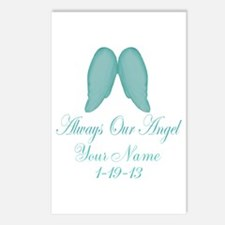 Always Our Angel Blue Postcards (Package of 8)